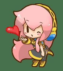 Hatsune Miku: All Together sticker #24365