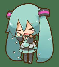 Hatsune Miku: All Together sticker #24367