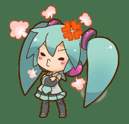 Hatsune Miku: All Together sticker #24371