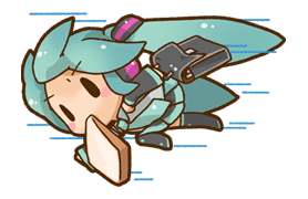 Hatsune Miku: All Together sticker #24377
