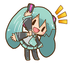 Hatsune Miku: All Together sticker #24379