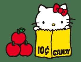 Hello Kitty sticker #3020