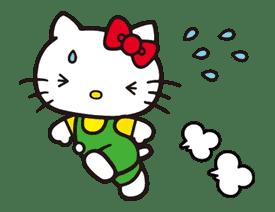 Hello Kitty sticker #3026