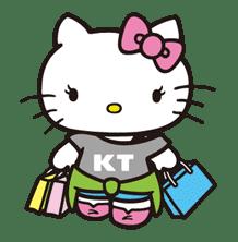 Hello Kitty sticker #3027