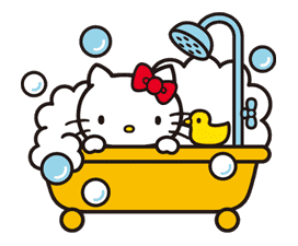 Hello Kitty sticker #3028