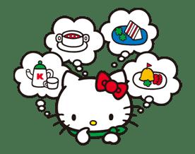 Hello Kitty sticker #3030