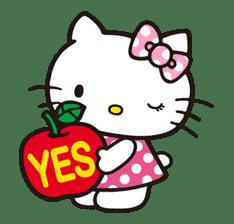 Hello Kitty sticker #3033