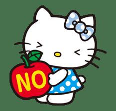 Hello Kitty sticker #3034