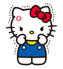 Hello Kitty sticker #3036