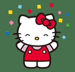 Hello Kitty sticker #3038