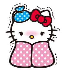 Hello Kitty sticker #3040