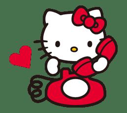 Hello Kitty sticker #3041