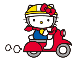 Hello Kitty sticker #3048