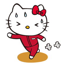 Hello Kitty sticker #3054