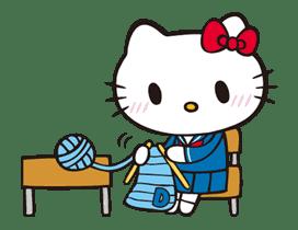 Hello Kitty sticker #3055