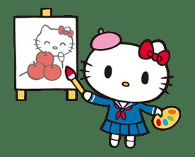 Hello Kitty sticker #3057