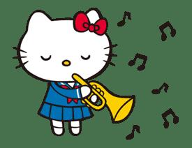 Hello Kitty sticker #3058