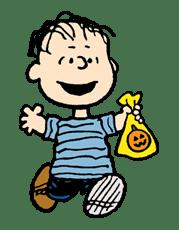 Snoopy Halloween sticker #4828