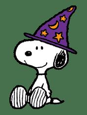 Snoopy Halloween sticker #4831
