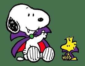Snoopy Halloween sticker #4837