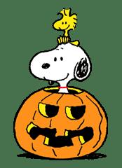Snoopy Halloween sticker #4838