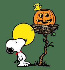 Snoopy Halloween sticker #4839