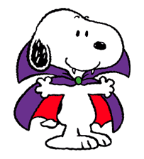 Snoopy Halloween sticker #4841
