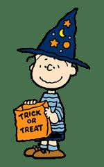 Snoopy Halloween sticker #4844