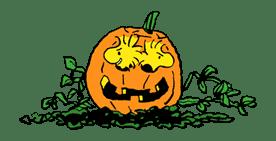 Snoopy Halloween sticker #4848
