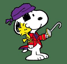 Snoopy Halloween sticker #4849