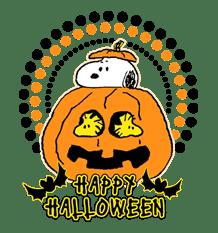 Snoopy Halloween sticker #4851