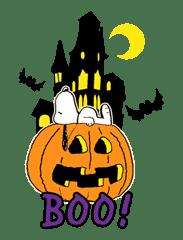 Snoopy Halloween sticker #4852