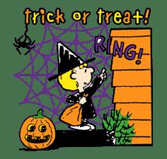 Snoopy Halloween sticker #4853