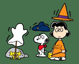 Snoopy Halloween sticker #4857