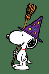 Snoopy Halloween sticker #4858