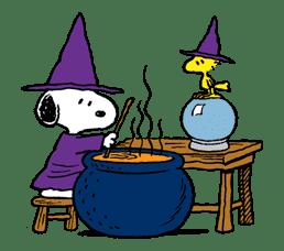 Snoopy Halloween sticker #4860