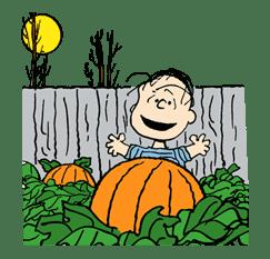 Snoopy Halloween sticker #4861