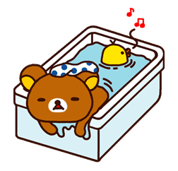 Rilakkuma Part2 sticker #9343