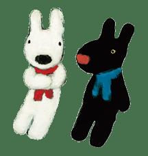 Gaspard et Lisa sticker #11658