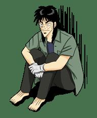 Kaiji sticker #14601