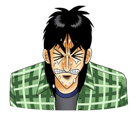 Kaiji sticker #14606