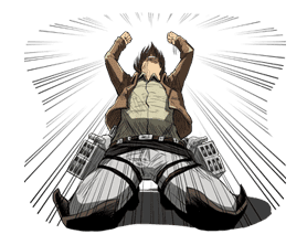 Attack on Titan sticker #14843