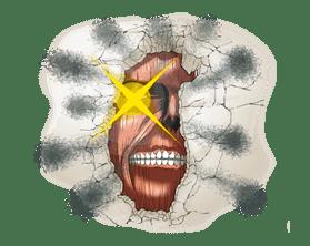 Attack on Titan sticker #14853