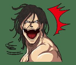 Attack on Titan sticker #14861
