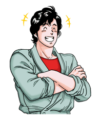 CITY HUNTER sticker #15361