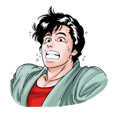 CITY HUNTER sticker #15362