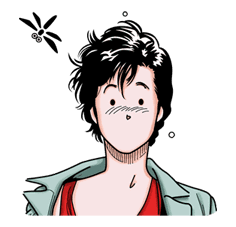CITY HUNTER sticker #15373