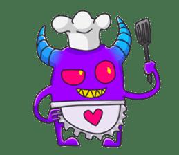 Beddomon and Kyu-chan Part 2 sticker #2384554