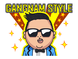 PSY GANGNAM STYLE sticker #5580
