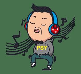 PSY GANGNAM STYLE sticker #5609